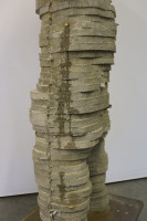 cement sculpture, contemporary figurative sculpture, Michael Grothusen