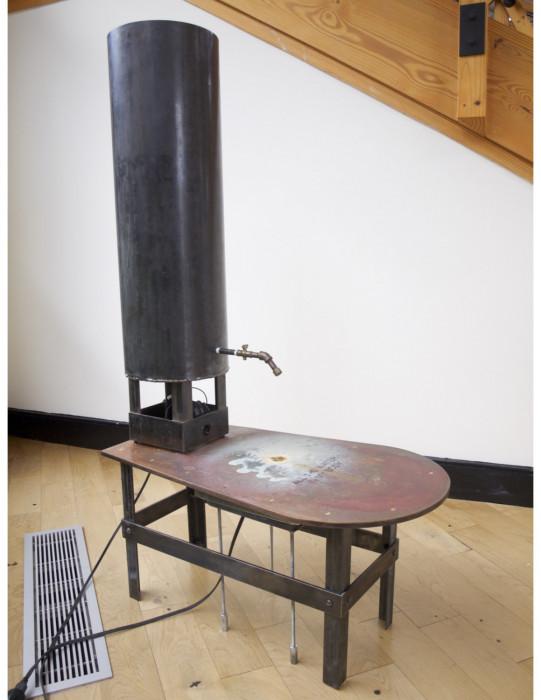 All the water in my body, Michael Grothusen, sculpture, Philadelphia, conceptual sculpture, body measurement sculpture