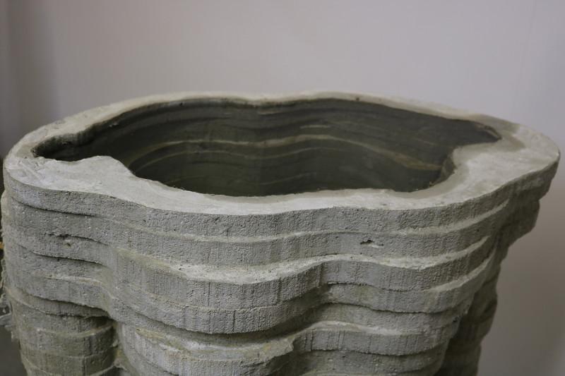 michael grothusen, cement sculpture, figurative sculpture