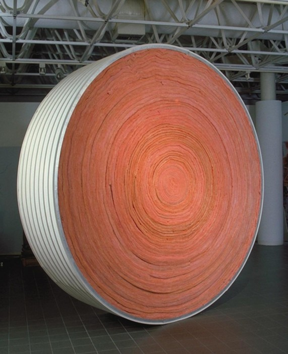 """For the People, vinyl siding, pink insulation, 10'x10'x32""""-installed at Moore Co"""