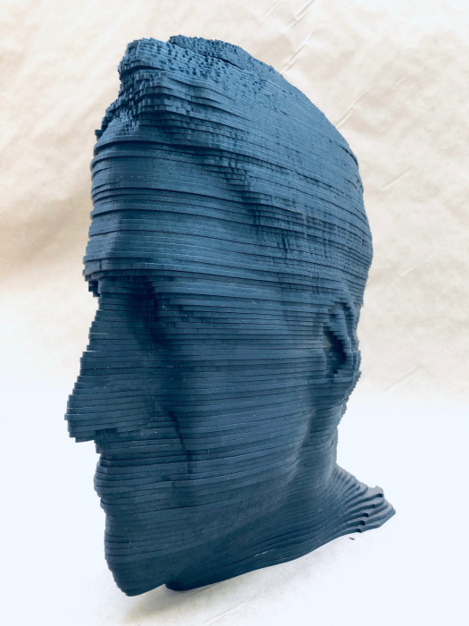 Michael Grothusen, figurative sculpture, digital figurative sculpture