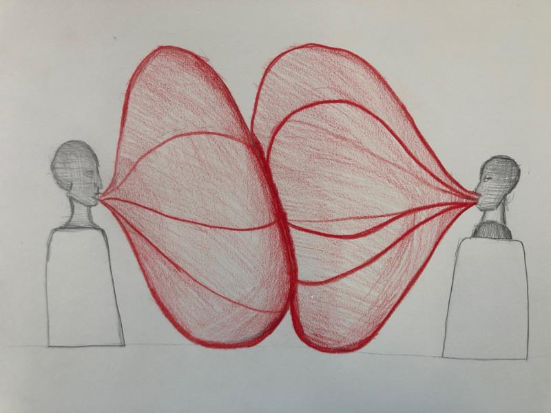 michael grothusen, drawings, sculpture